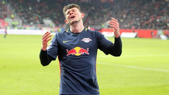 Oliver Burke und Leipzig unterliegen Ingolstadt.