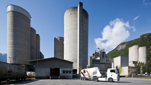 Holcim-Fabrik in Untervaz