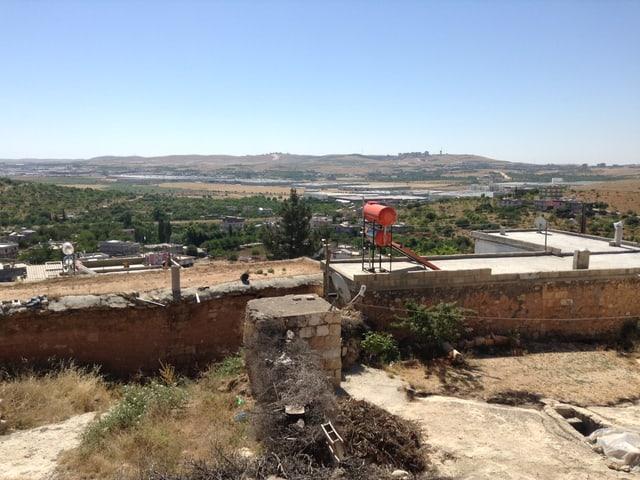 Landschaft in der Gegend von Gaziantep