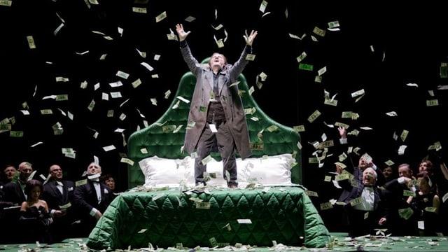 Szene aus der Oper «Pique Dame» am Zürcher Opernhaus