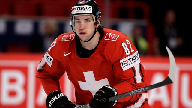 Simon Moser überzeugte mit der Schweizer Nati bei der WM mit der Silbermedaille.