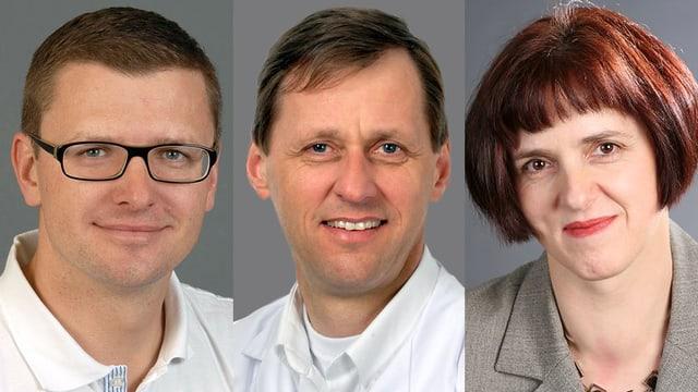 Dr. Richard Glaab, Prof. Gerrolt Nico Jukema, Dr. Gabriella Künig