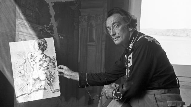 Dali in einer Aufnahme von 1966.