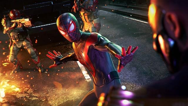 Eine Szene aus dem Game «Spider-Man: Miles Morales» für die Playstation 5