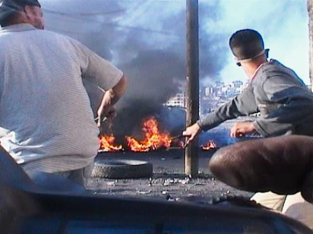 Szene aus dem Film «War Photographer».