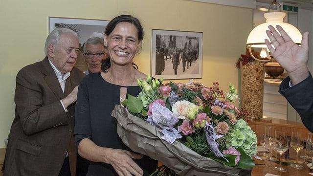 Hat die Wahl in den Nationalrat nur knapp geschafft: Monika Rüegger.