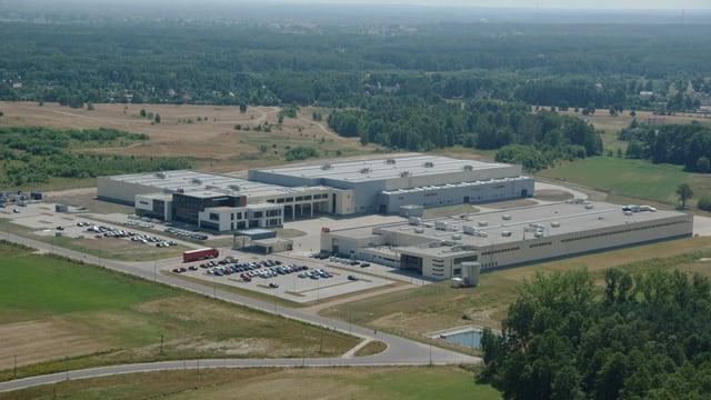ABB-Fabrikgebäude in Polen.