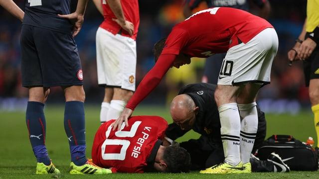 Van Persie wird den «Red Devils» im Klassiker gegen Bayern nicht zur Verfügung stehen.