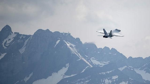 F/A-18 in der Luft.