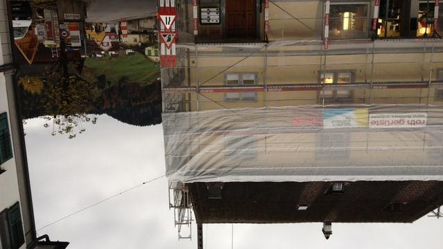 Eine der vielen Baustellen in Appenzell. Der Immobilienmarkt ist überhitzt, sagen Beobachter.