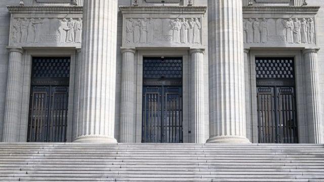Las portas dal Tribunal federal