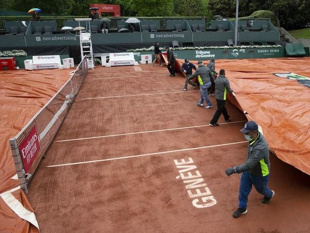 Der Spielbetrieb in Genf musste mehrfach unterbrochen werden.