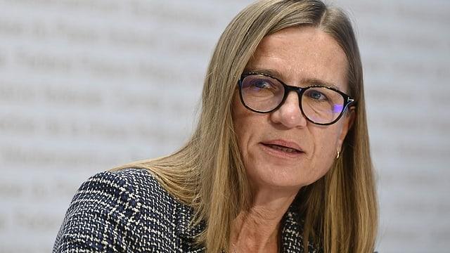 Virginie Masserey, Leiterin Sektion Infektionskontrolle Bundesamt für Gesundheit BAG