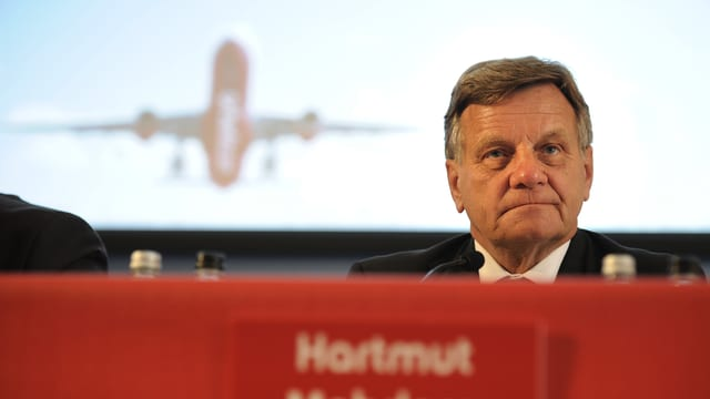 Konzern-Chef der Air Berlin, Harmut Mehorn