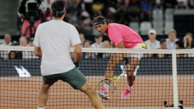 Roger Federer e Rafael Nadal dattan tennis