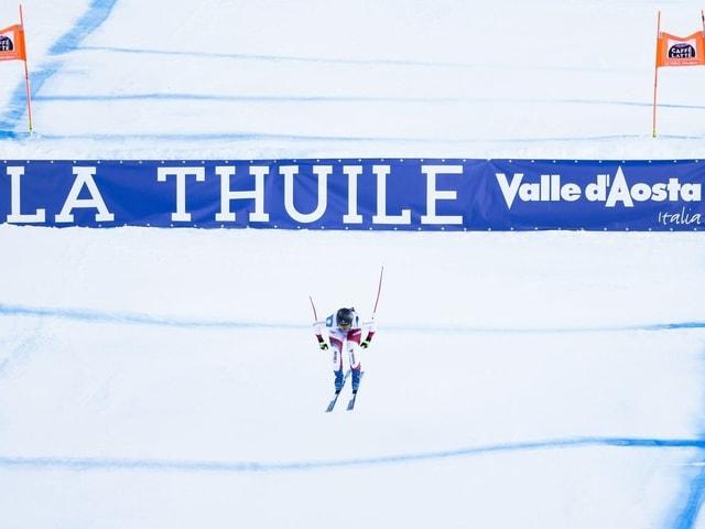 Die Rennen in La Thuile.