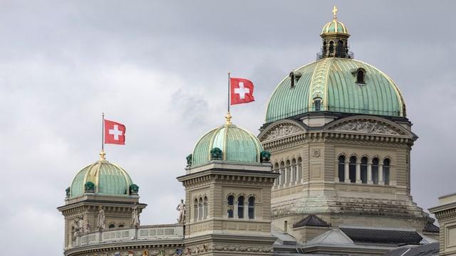 Il maletg mussa la Chasa federala a Berna.