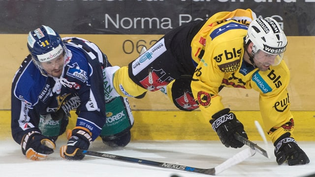 Der SC Langenthal stellte dem grossen SC Bern im Schweizer Hockey-Cup beinahe ein Bein.