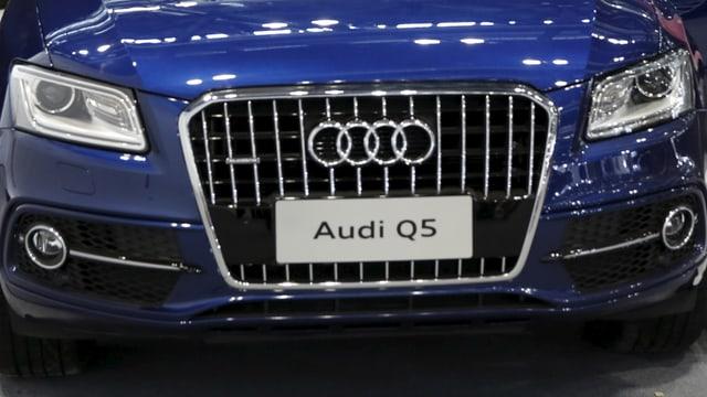 Il vehichel champester Q5 è in dals models pertutgads dad Audi.