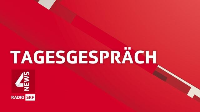 Logo-Schriftzug der Sendung «Tagesgespräch»