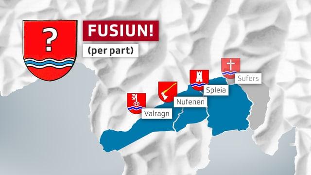 La regenza sustegniss era ina fusiun cun mo quatter vischnancas.