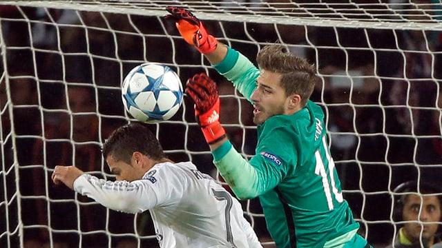 Trapp gegen Ronaldo.