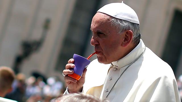 Papst Franziskus im Juni in Rom.