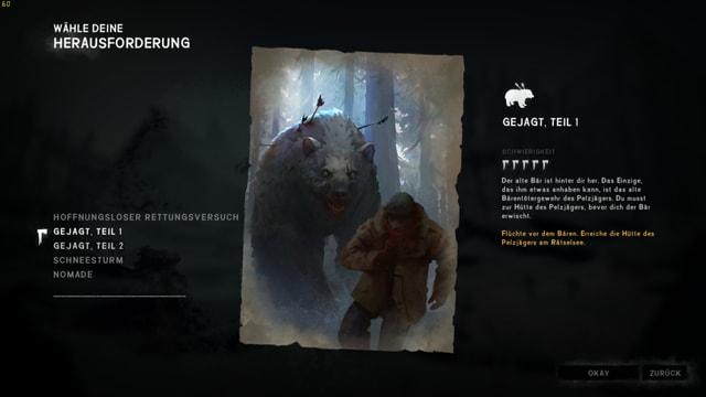 Dem Bär zu entkommen ist eine Herausforderung der nur die härtesten Spieler gewachsen sind.