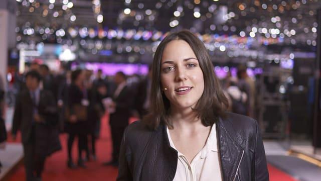Video «Am Autosalon in Genf» abspielen