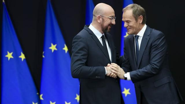 Michel folgt auf Tusk - Ein Präsident für Kompromisse