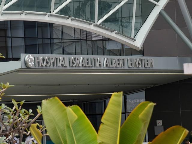 Das Albert Einstein Hospital von aussen.