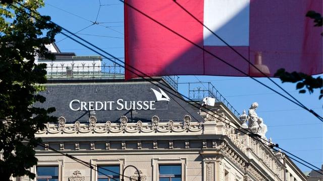Die Credit Suisse am Zürcher Paradeplatz