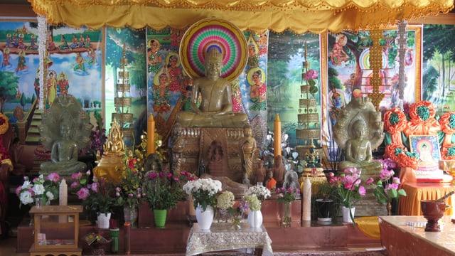 Ein Raum zum Festen und Beten für Kambotschaner