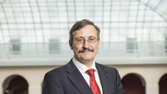 Der Rektor der Universität Zürich, Michael Hengartner: