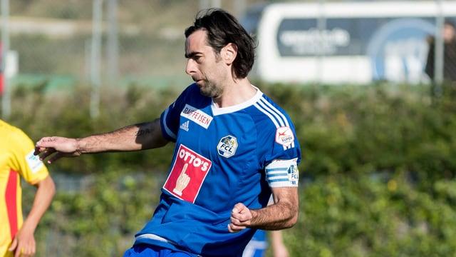Puljic beim seinem letzten Spiel für Luzern im Frühjahr.