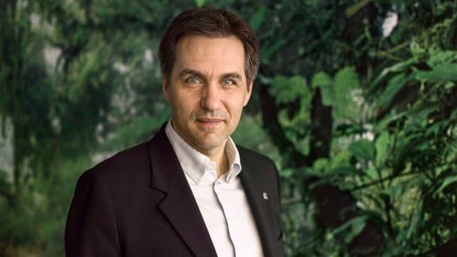 Thomas Vellacott, Chef von WWF Schweiz.