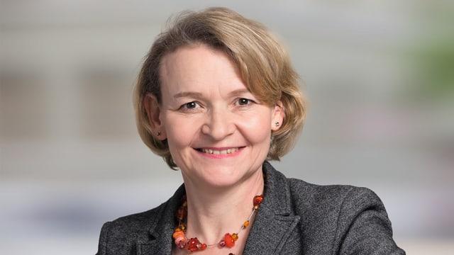 Ursula Marti im Portrait