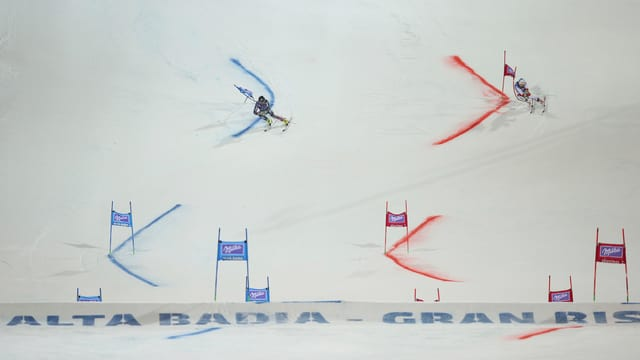 Cyprien Sarrazin und Carlo Janka tragen den letztjährigen Final aus.