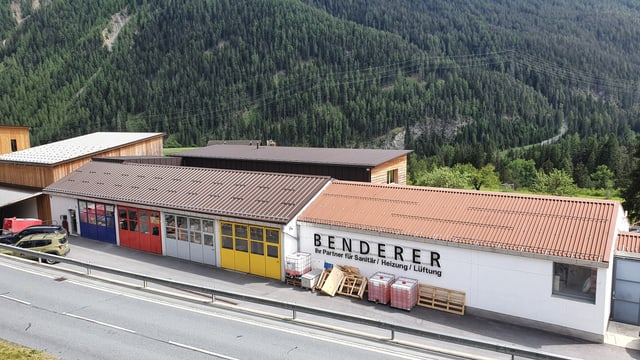 La localitad da la firma Benderer Sent SA