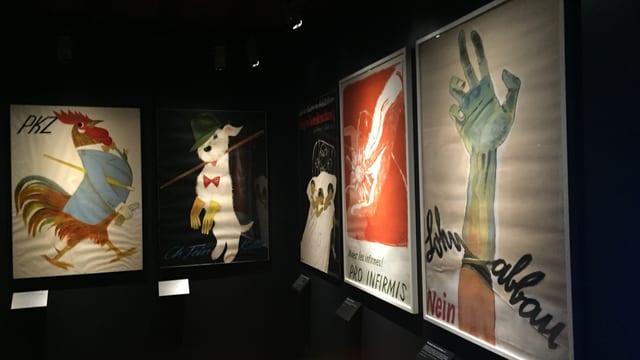 L'exposiziun actuala dal Museum naziunal svizzer preschenta ovras dad Alois Carigiet.