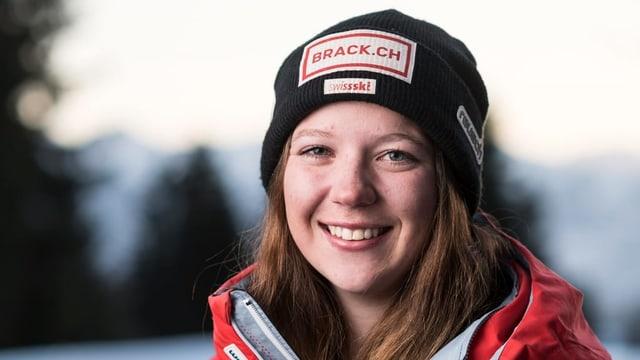 Porträt Juliana Suter.