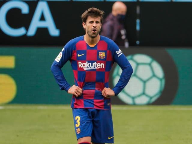 Barcelona-Spieler Gerard Pique.