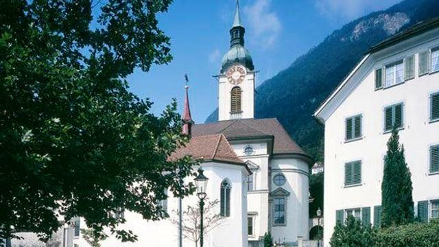 Die Kirche von Altdorf.