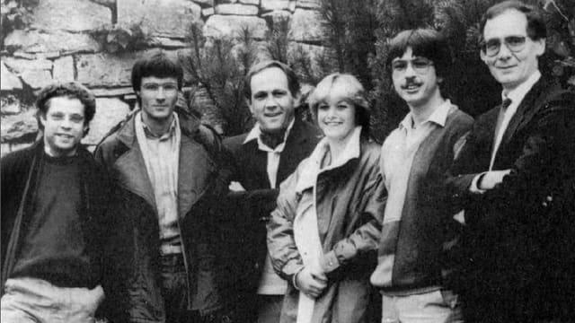 Das erste Regionaljournal-Team von 1984