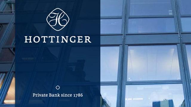 Il logo da la banca privata Hottinger.