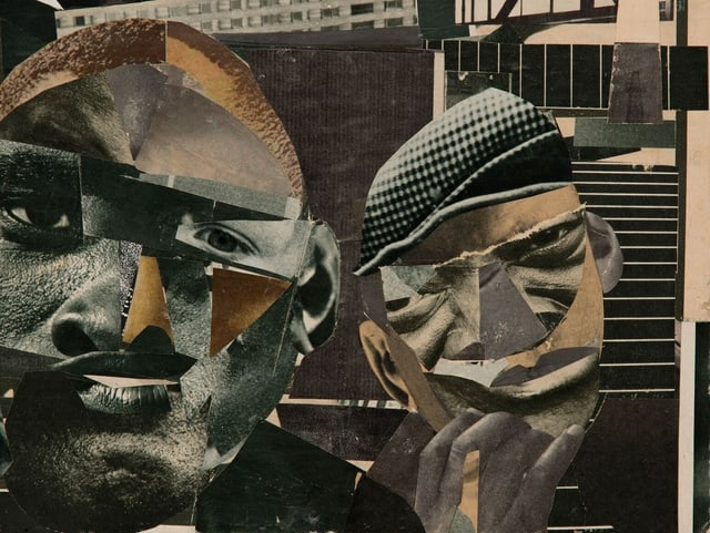 Romare Bearden: «Pittsburg Memory», 1964.