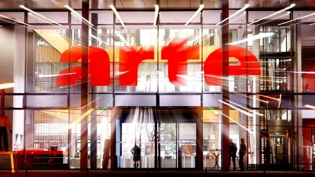 Der Fernsehsender Arte in Strassburg.