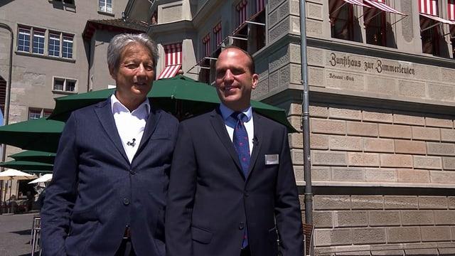 Video «Stadt Zürich – Tag 1 – Zunfthaus zur Zimmerleuten, Zürich (WH)» abspielen