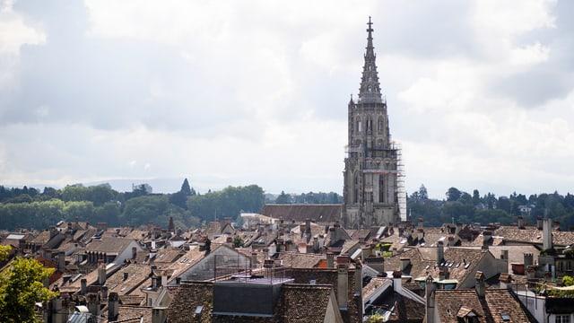 Stadt Bern von oben