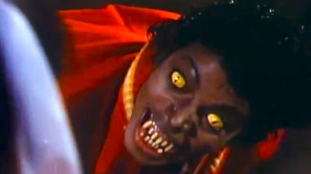 Michael Jackson als Werwolf